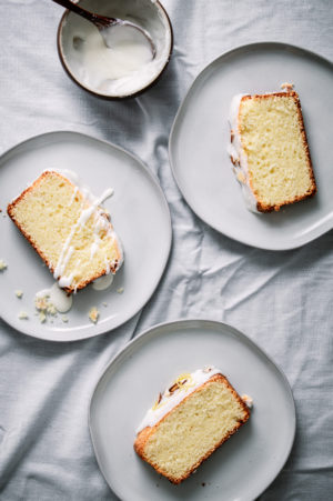 almost like pound cake buttermilk lemon cake with tangy lemon icing
